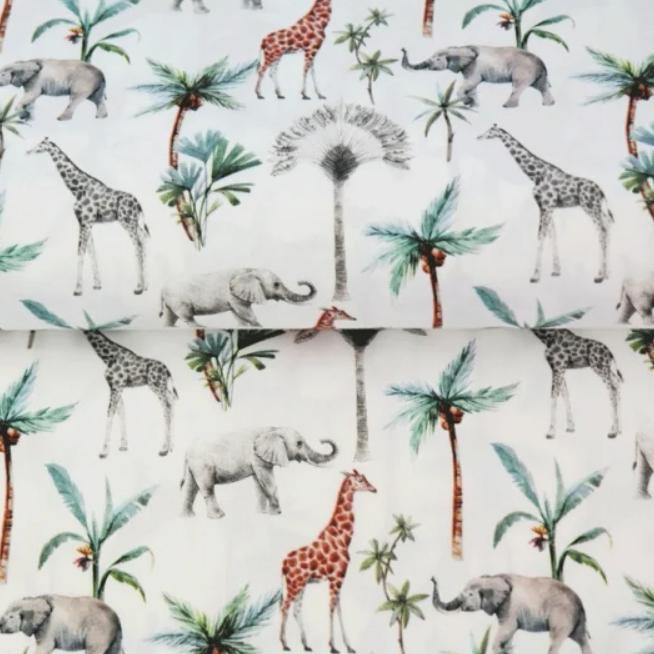 Katoen-Olifant en Giraffe