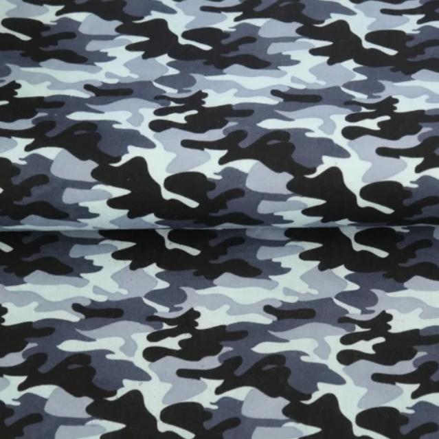 Katoen-Army Blauw