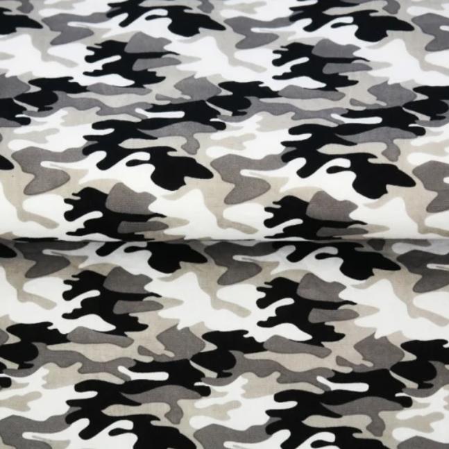 Katoen-Army Wit