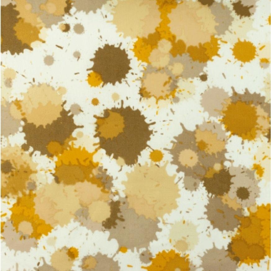 Katoen - Aquarel Oranje