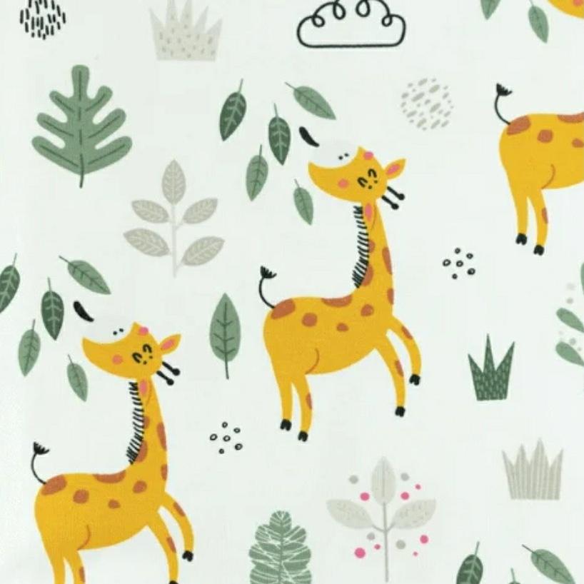 Katoen - Giraffe Off White