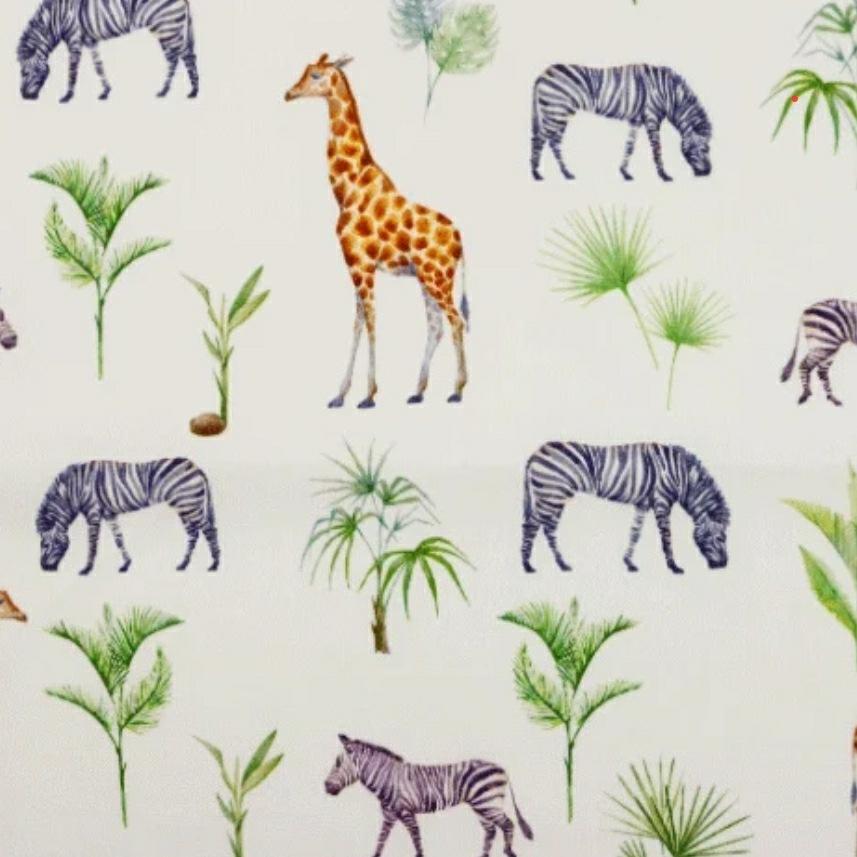Katoen - Safari Animals
